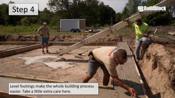 basic icf construction step 4