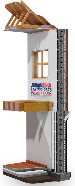 buildblock-icf-model-wall-section attic