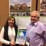 Glenna Wilson and Todd Scott of Charis Homes Receive the DOE Housing Innovation Award