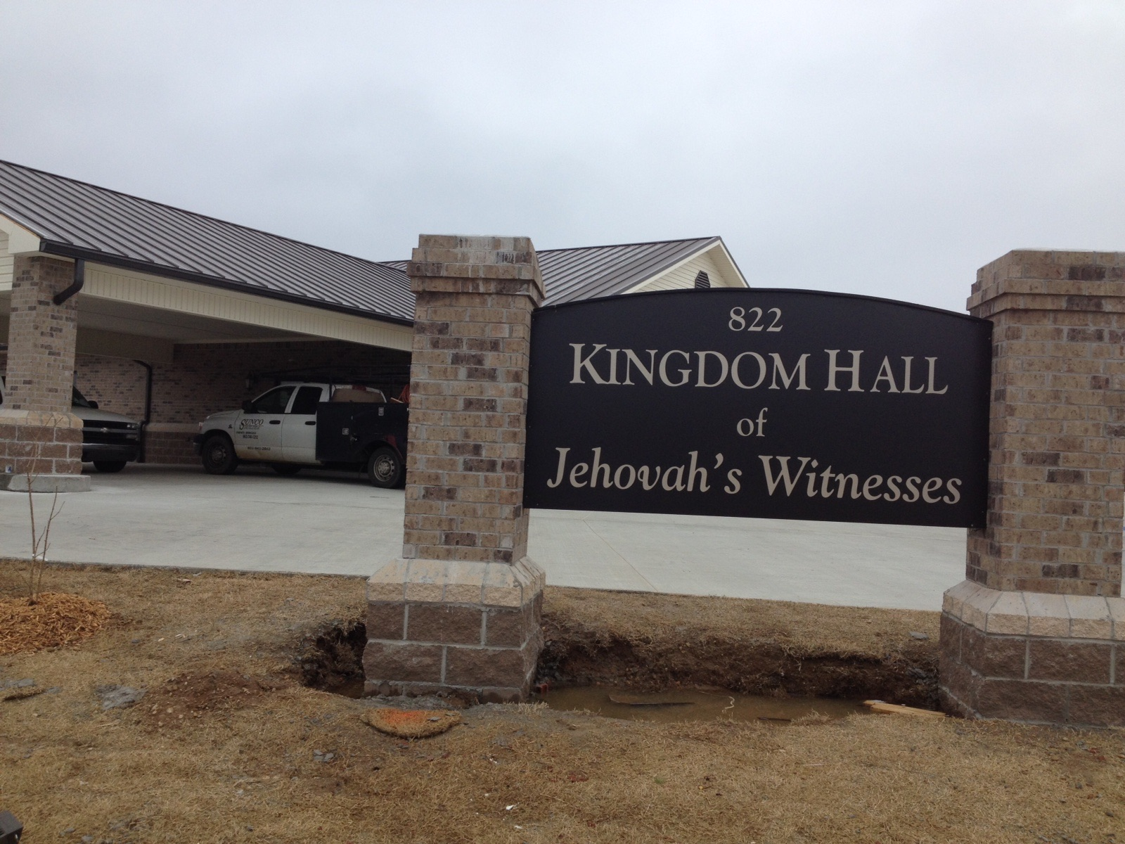 Jehovahs Witness Kingdom Hall Future of Sustainable Efficient Construction with BuildBlock ICFs.