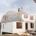 ICF Walls and Roof Trusses
