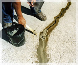 Buildcare Waterproofing: Crack Filling