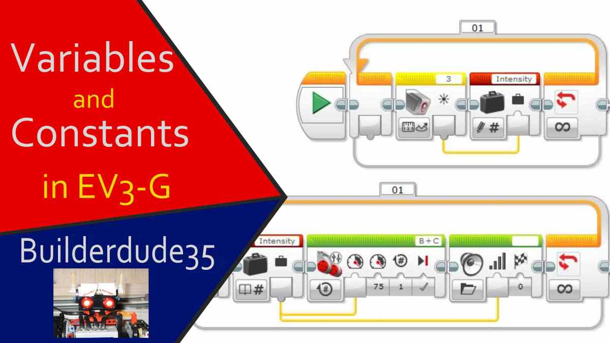 how to program constants and variables in ev3-g – ev3 programming