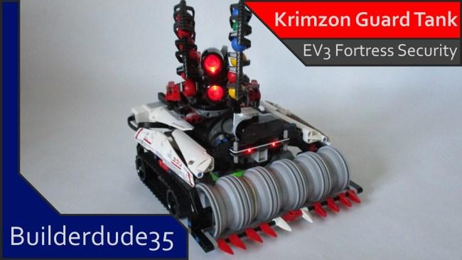 Krimzon Guard Security Tank – EV3 Creations – Builderdude35