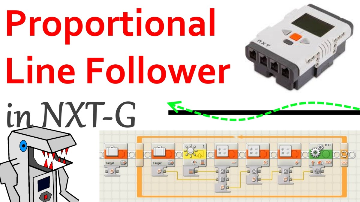 How To Program A Proportional Line Follower In Nxt G Builderdude35 Circuit
