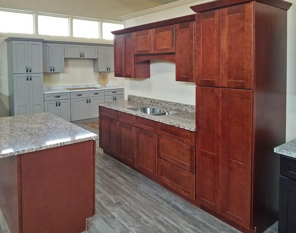 Tuscany Merlot Kitchen Cabinets Builders Surplus