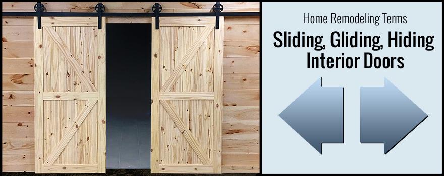 sliding gliding hiding interior doors