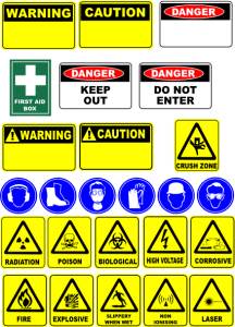 Safe work Related Signage