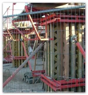 Reinforced concrete formwork