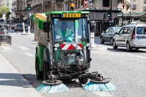 Road sweeper image
