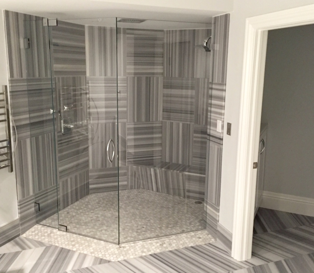 Comparing Frameless Shower Door Options Builders Glass Of