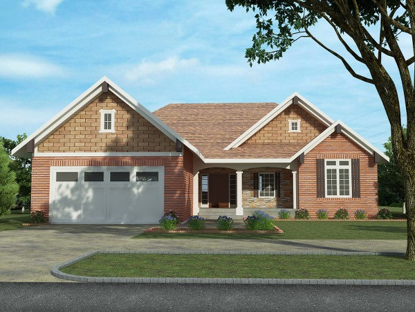 The Laurels - 1512 sq. ft.-Front