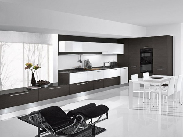 modern-white-and-black-kitchen