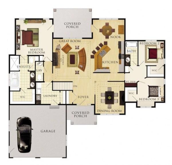 The Cobble Hill Floor Plan