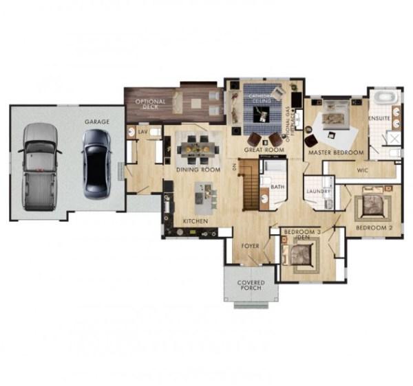 The Elk Ridge Floor Plan