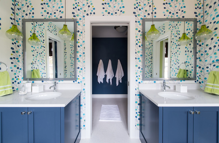 Jack and jill bathrooms kids bath design builders surplus - Jack and jill restrooms ...