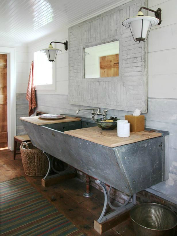 Bathroom Vanity Industrial rustic bathroom vanities to upgrade your outhouse • builders surplus