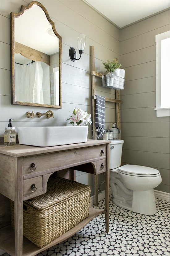 Rustic bathroom vanities to upgrade your outhouse - Bathroom cabinets builders warehouse ...