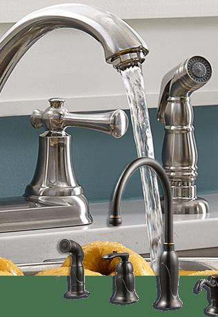 kitchen faucets cincinnati, newport & louisville • builders surplus