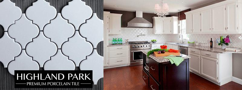 arabesque white bar kitchen source highland park tile classic beauty builders surplus