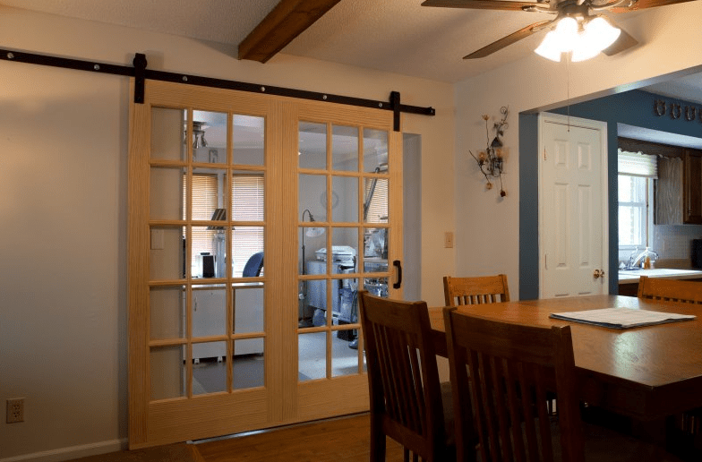 traditional sliding barn doors
