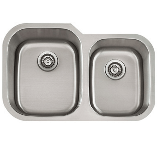 Lenova Stainless Steel Undermount 34.5 Kitchen Sink • Builders Surplus