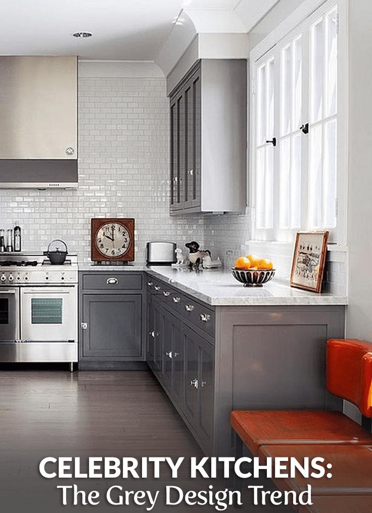 Grey Celebrity Kitchens