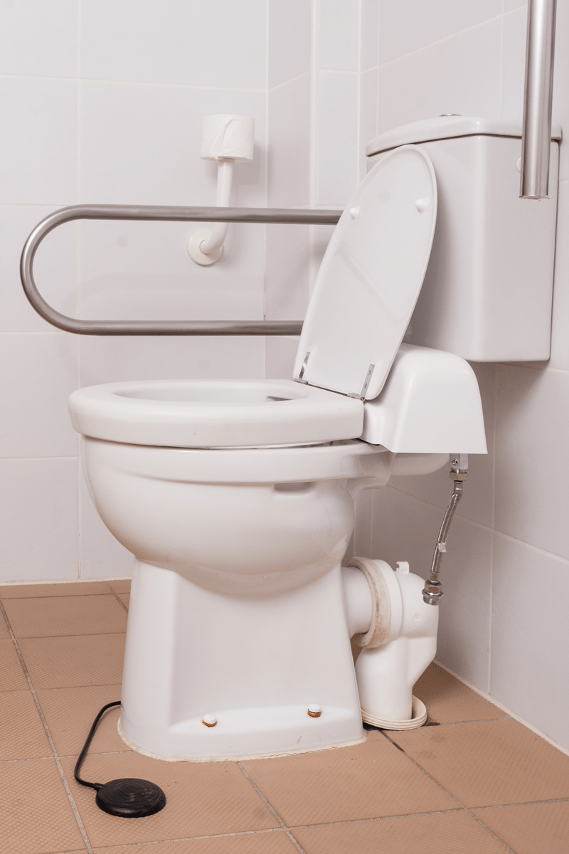 Toilet Handle Comfort Height