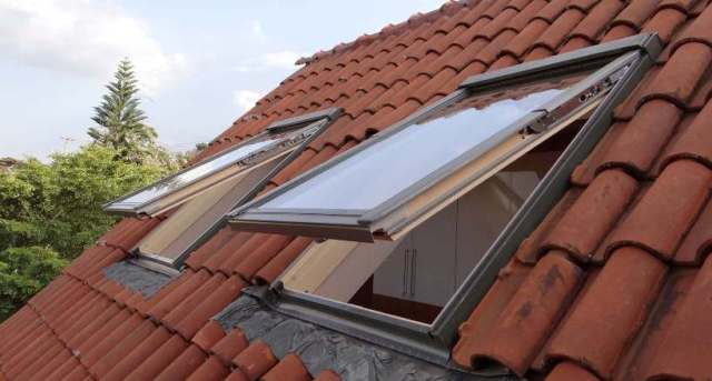 Roof windows - how they look from outside