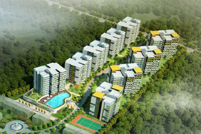 An artists impression of what the proposed Kisii City will look like