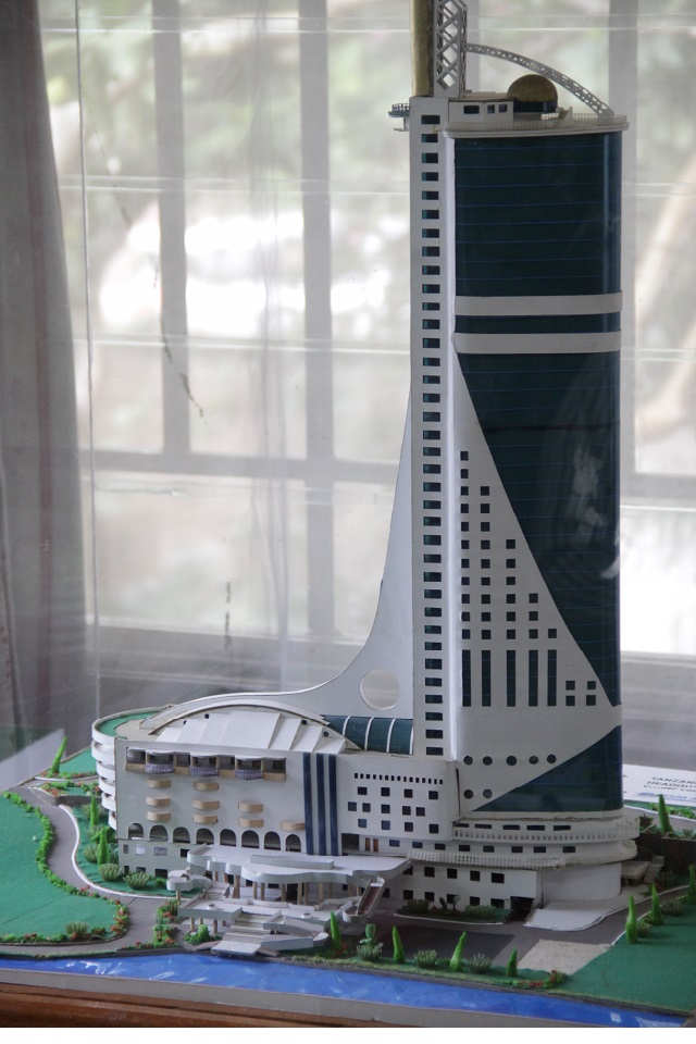 Tanzania Ports Authority HQs Model