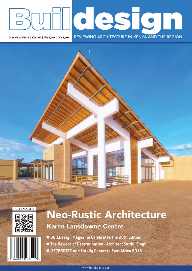 BUILDesign MAGAZINE Issue 20 Cover
