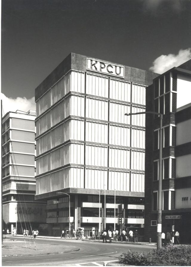 The KPCU building in its early days