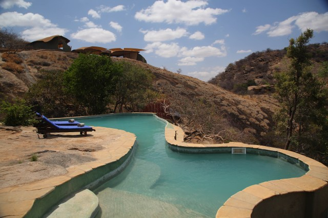 The Pools blend seamlessly with the environment