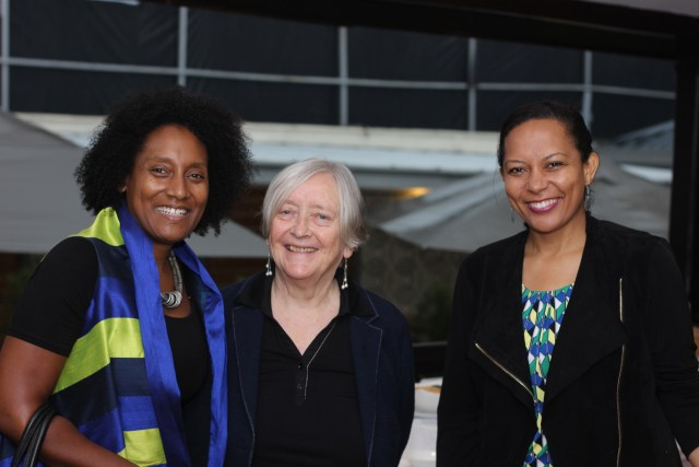 (L-R)Urban Planner Robyn Emerson WIRE President, Dr. Arch. Diana Lee Smith and Arch. Emma Miloyo WIRE Vice-president.