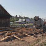 Строительство бетонного фундамента для дома