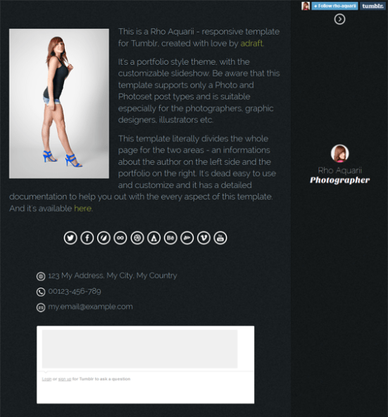 rho aquarii dark tumblr theme