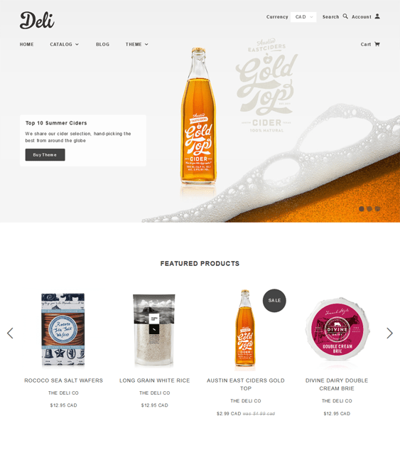 blockshop food drink shopify themes