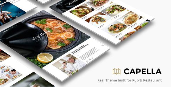 Bar and Restaurant WordPress Themes