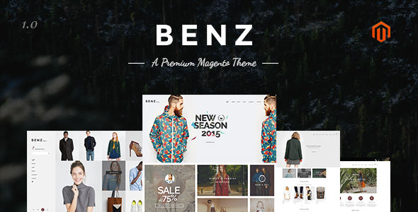 Benz Magento Theme by Novaworks (Magento theme)