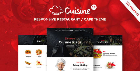 Cuisine by Themeum (WordPress theme)