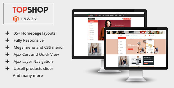 Topshop by Magentech (Magento theme)