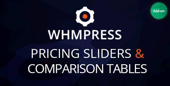 WHMCS Pricing Sliders And Comparison Tables by Creativeon (pricing table plugin)