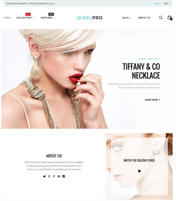 epro jewelry shopify themes