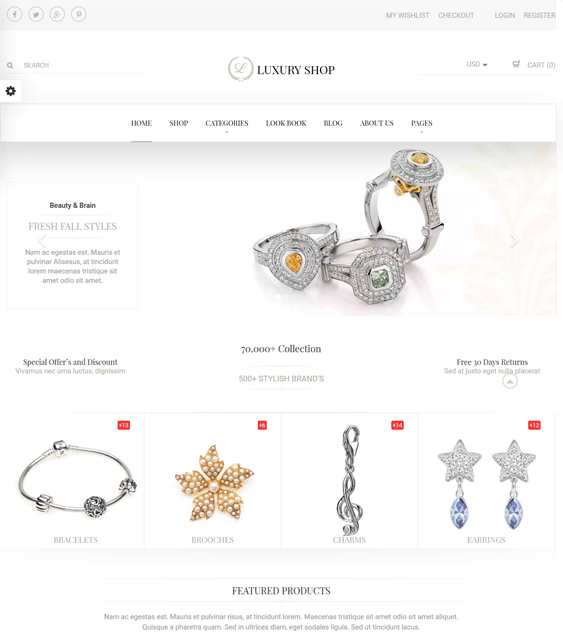luxury jewelry shopify themes