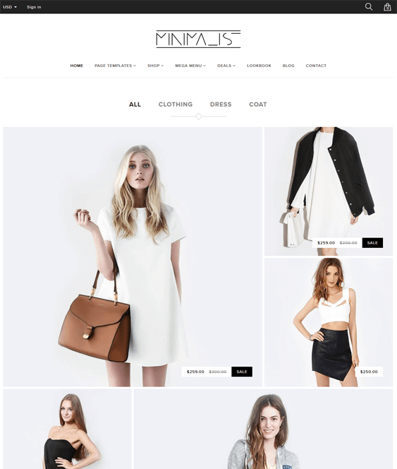23 More Of The Best Minimal Shopify Themes Buildify