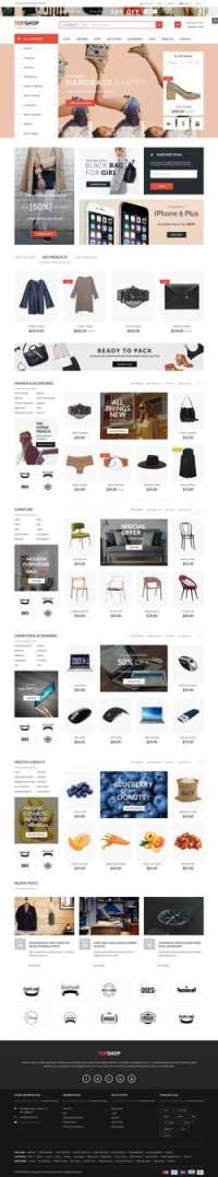 Topshop - Premium Multi-Purpose Magento - Theme