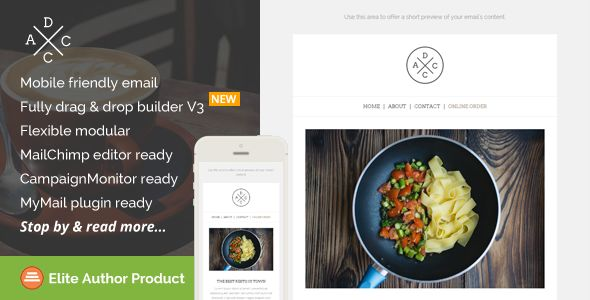 Acdc by Saputrad (email templates for use with Mailchimp)