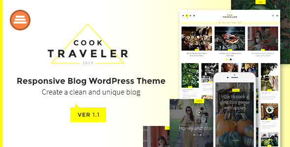 Cook Traveler by Annabalashova (magazine WordPress theme)
