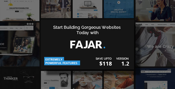 Fajar by BrighThemes (multi-purpose WordPress theme)